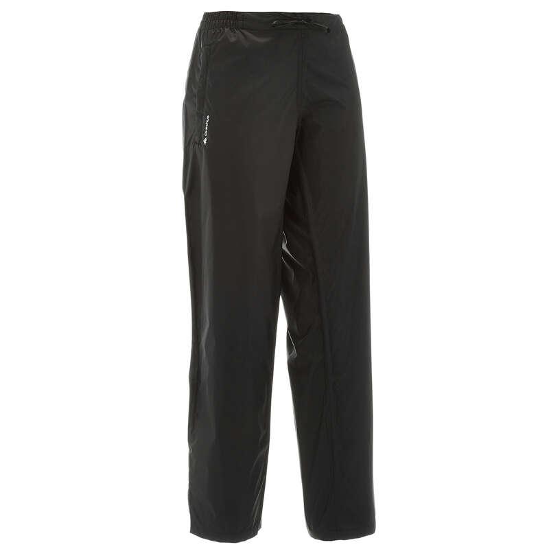 Wanderjacken Damen Naturwandern Wandern - Regenhose NH500 schwarz QUECHUA - Wanderhosen, Shorts und Röcke