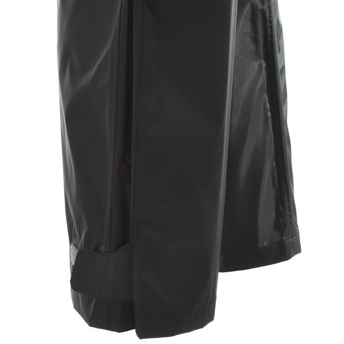 Regenbroek voor dames, voor wandelen, Raincut zwart - 712495
