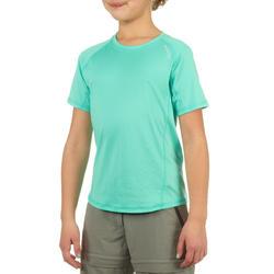 Jongens T-shirt voor wandelen Hike 100