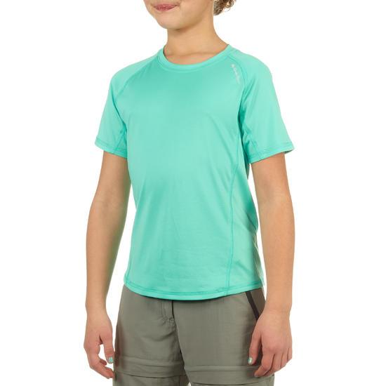 Jongens T-shirt voor wandelen Hike 100 - 712579