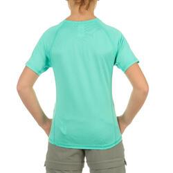 Jongens T-shirt voor wandelen Hike 100 - 712581