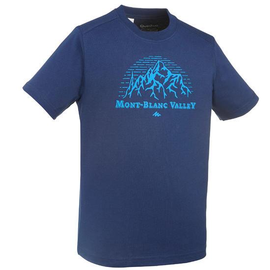 Jongens T-shirt voor wandelen Hike 500 - 712601