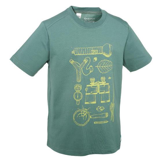 Jongens T-shirt voor wandelen Hike 500 - 712636