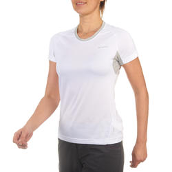 T-shirt korte mouwen trekking Techfresh 50 dames - 712756