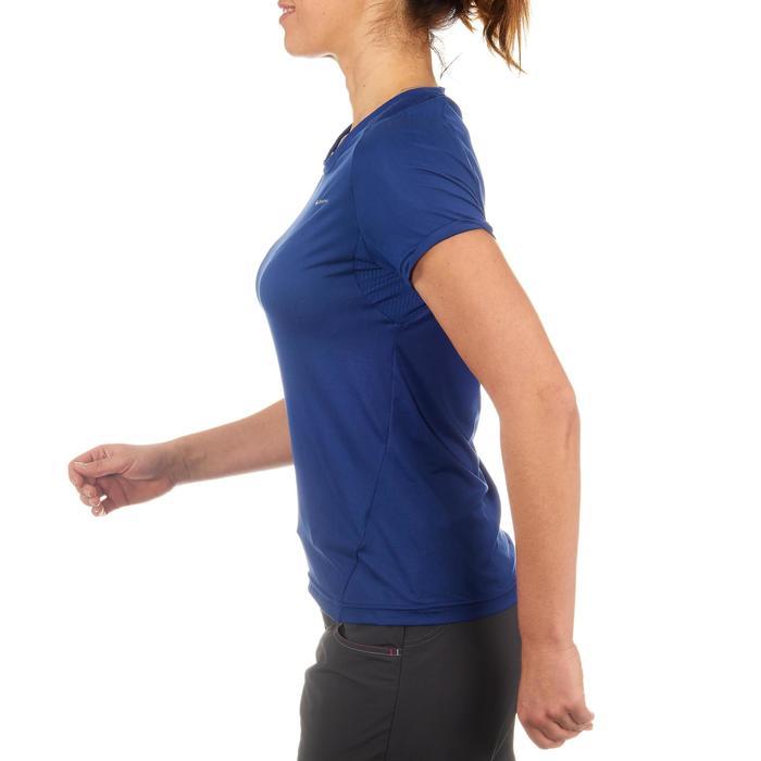 Tee-Shirt manches courtes randonnée Techfresh 50 femme - 712763