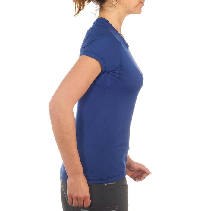Tee-Shirt manches courtes randonnée Techfresh 50 femme - 712767