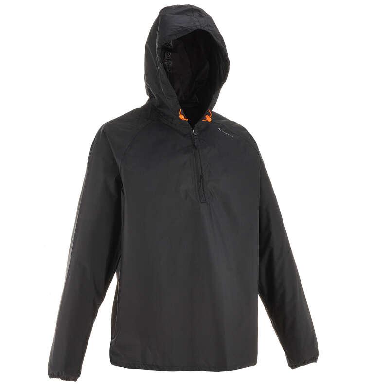 JACHETE DRUMEȚIE ÎN NATURĂ  BĂRBAȚI Drumetie,Trekking - Jachetă ploaie NH100 Raincut  QUECHUA - Imbracaminte