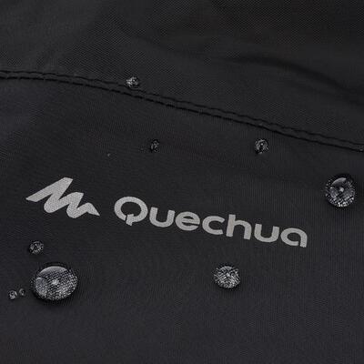 Chubasquero Impermeable Montaña y Trekking, Quechua, NH100,1/2 Cremallera,Hombre