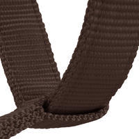 Schooling Horseback Riding Halter for Horse and Pony - brown