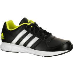 Kindersneakers Fastwalk zwart/geel