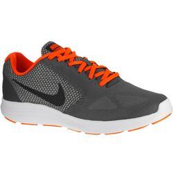 Herensneakers Revolution 3 grijs/oranje
