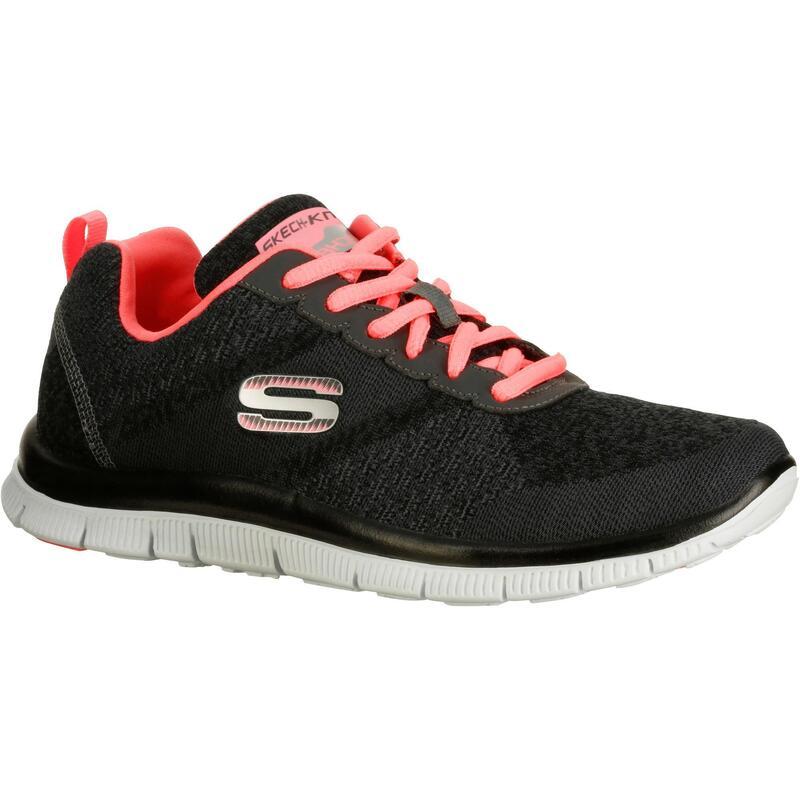 Damessneakers Flex SimplySweet grijs/roze
