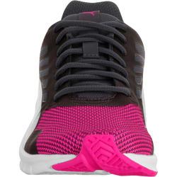 Damessneakers St Trainer zwart/roze - 713568