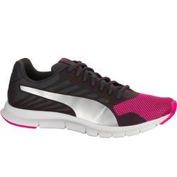 Damessneakers St Trainer zwart/roze - 713572