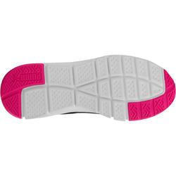 Damessneakers St Trainer zwart/roze - 713574