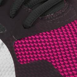 Damessneakers St Trainer zwart/roze - 713579