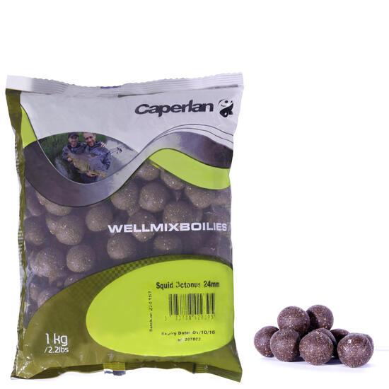 Lokvoer voor karpervissen boilies Wellmix 1 kg - 713599