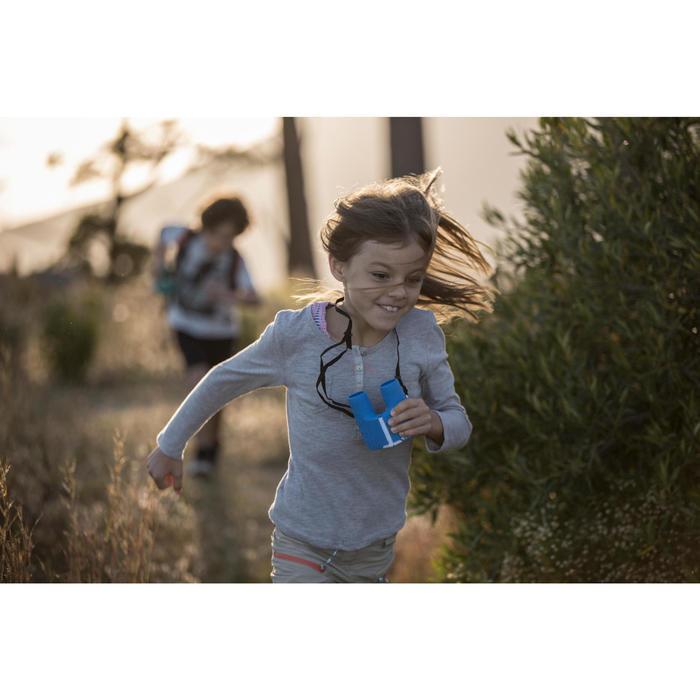 Prismáticos de senderismo niño sin ajuste MH B 100 aumento x6 azules
