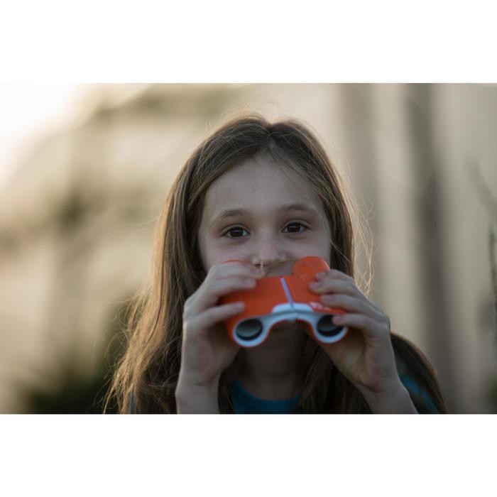 Kids' no adjustment hiking binoculars MH B120 8 X magnification - Orange