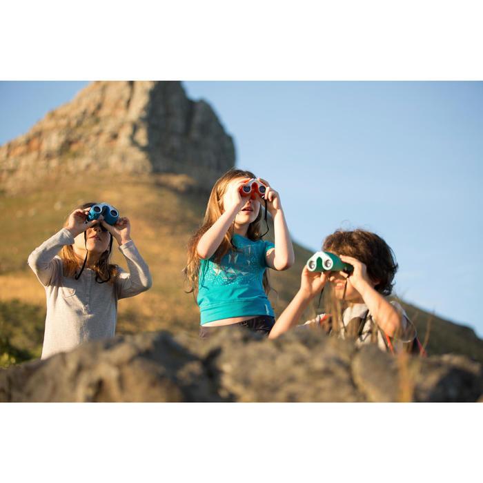 Children's binoculars without adjustment x8 magnification - Orange