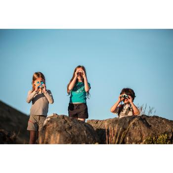 Children's binoculars without adjustment x8 magnification - Blue