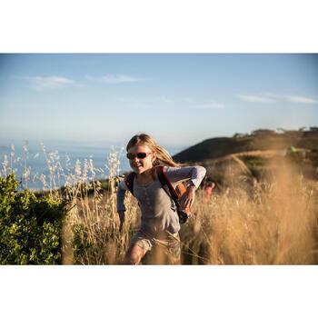 Lunettes de soleil de randonnée enfant 7-9 ans TEEN 300 noires catégorie 4 - 713685
