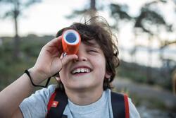 Monoculair M300 voor wandelen, voor kinderen, 8x vergroting, fixed focus - 713693