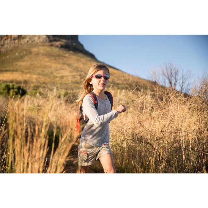 Lunettes de soleil de randonnée enfant 7-9 ans TEEN 300 noires catégorie 4 - 713700