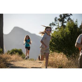 Lunettes de soleil randonnée enfant 3-6 ans KID 500 roses catégorie 4 - 713715