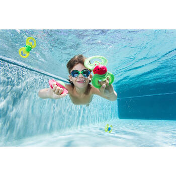 AMA 700 swimming goggles size S - blue green