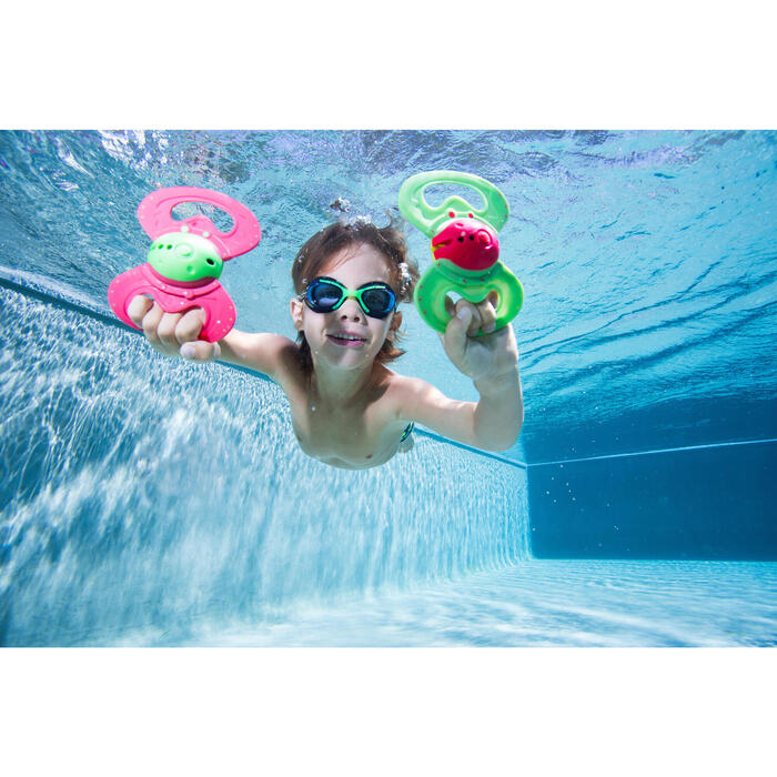 S號 泳鏡 AMA 700 - 藍色 綠色