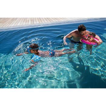 """Brassards de natation enfant bleus imprimés """"ZEBRE"""" - 714080"""