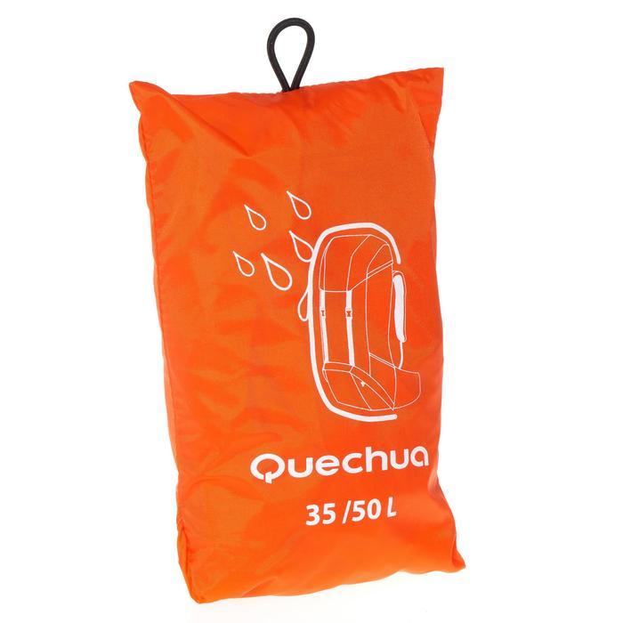 Rucksack-Regenhülle mittelgroß orange