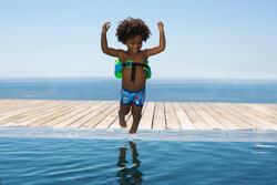 Zwemboxer Titou voor jongens zebro - 714131