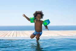 Zwemboxer Titou voor jongens zebro - 714151