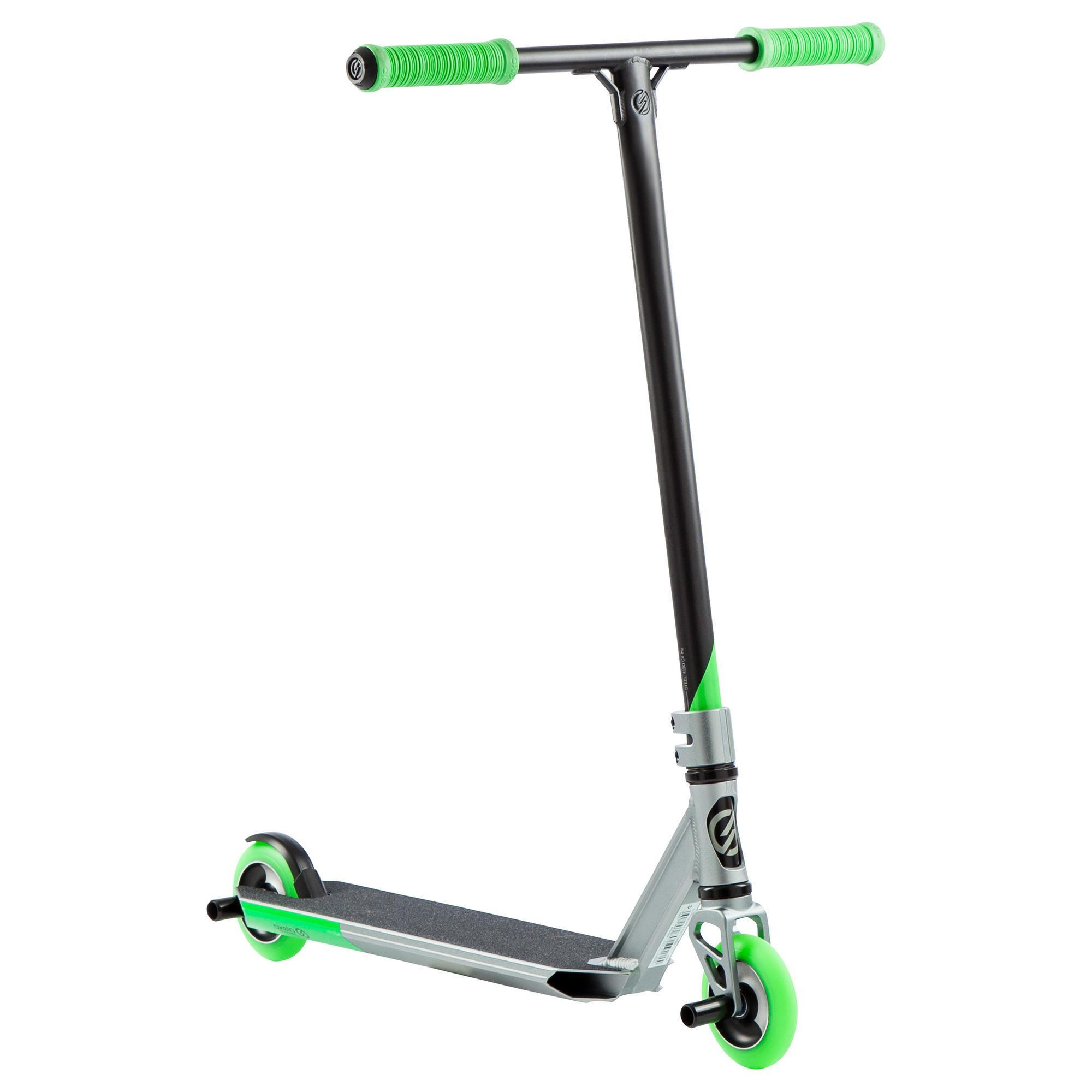mf3 6 freestyle scooter green oxelo. Black Bedroom Furniture Sets. Home Design Ideas