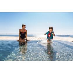 Zwemvest roze/geel