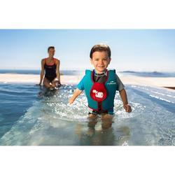 Schwimmweste Schaumstoff Kinder blau/rot