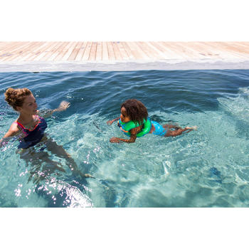 Gilet de natation gonflable vert NECKVEST - 716014