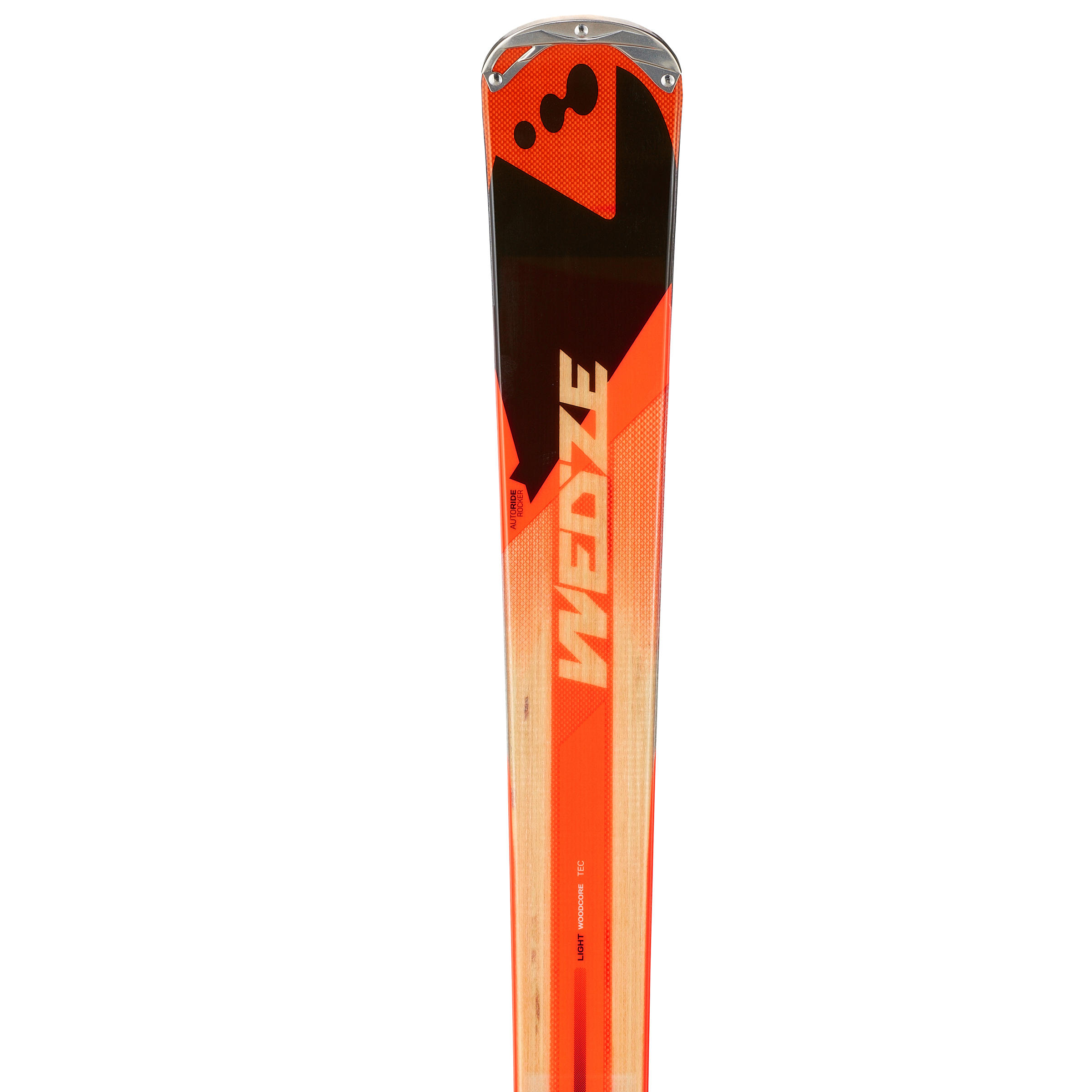 ALLMOUNTAIN XLANDER 500 DOWNHILL SKIING SKIS - RED
