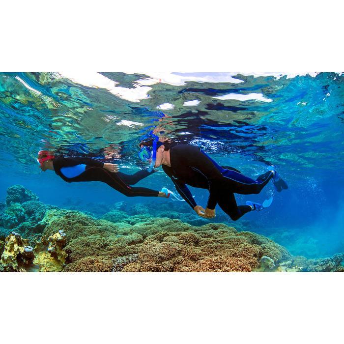Combinaison intégrale de snorkeling homme 2 mm noire - 716877