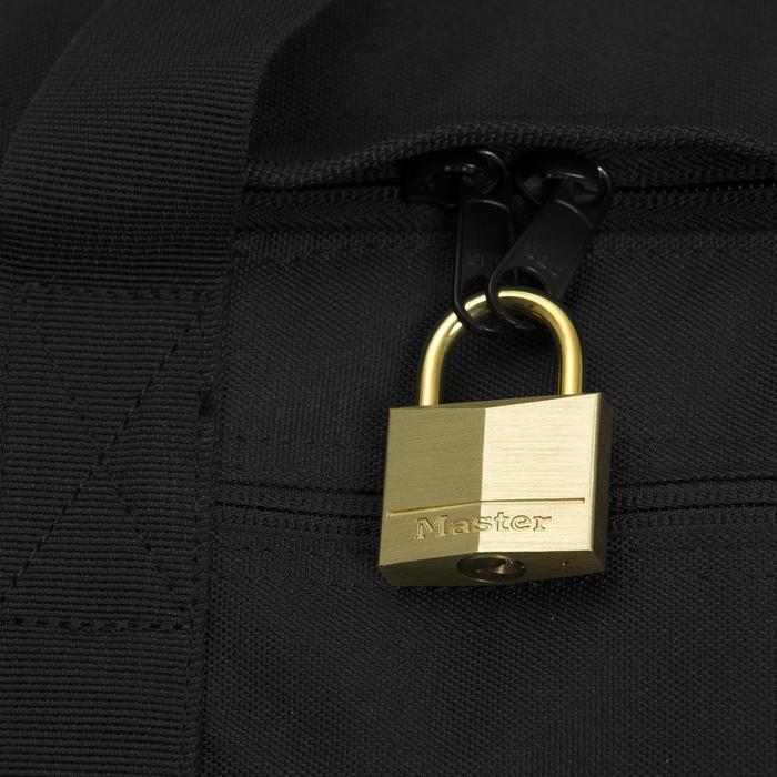 TRAVEL Vorhängeschloss für Koffer 35 mm Messing mit Schlüssel