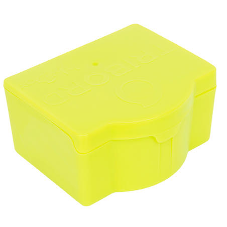 Storage box for wax + comb.