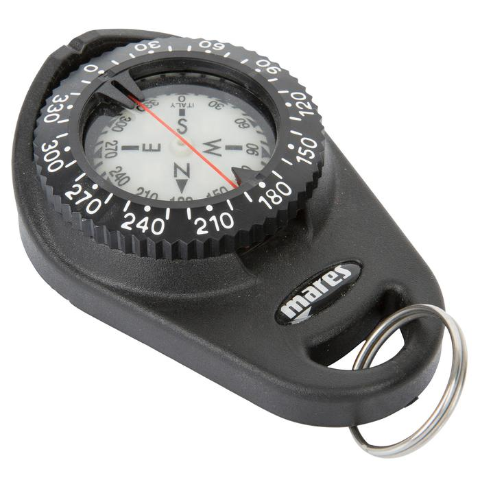 Tauchkompass mit Clip-Konsole