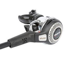 Regulador de buceo ABYSS 22 DIN negro/plata