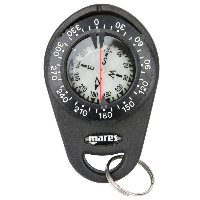 Tauchkompass mit Clip-Befestigung