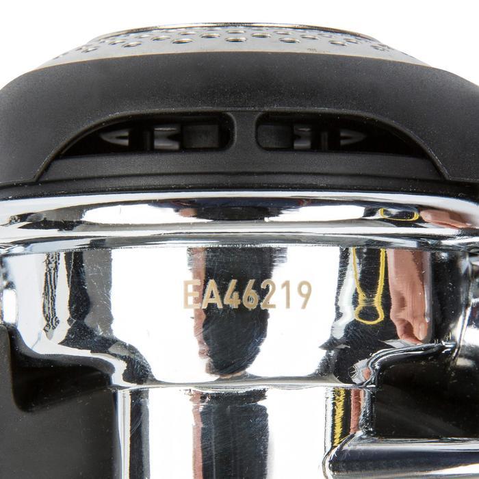 DIN ademautomaat Abyss 22 zwart/zilver - 716927