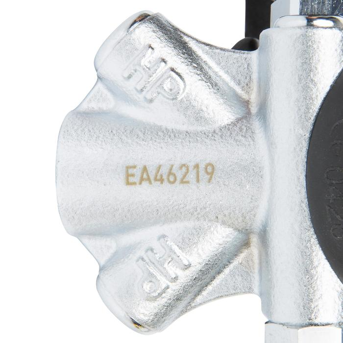 DIN ademautomaat Abyss 22 zwart/zilver - 716932