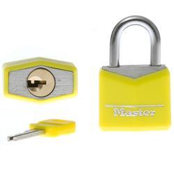 set van 2 hangsloten en 2 sleutels van 30 mm