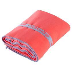 80 x 130 cm輕便微纖維毛巾L號-橘色